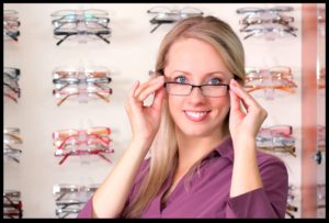 woman_blonde_glasses_shelves1