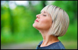woman-takes-breath
